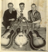 Ron Jenkins, John Crago and Norm Winquist
