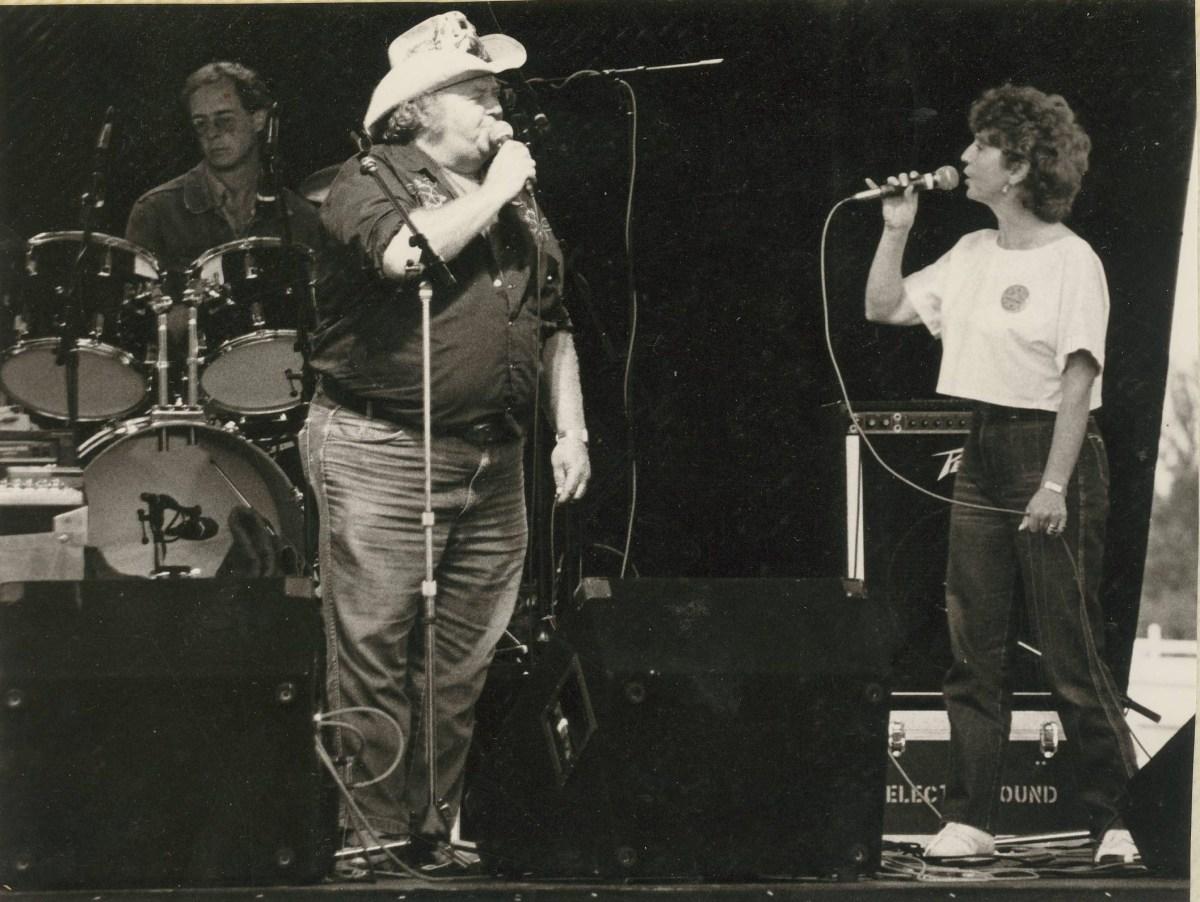 Terry Murray, Maureen Lewis and Graham White